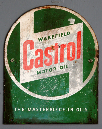 Castrol sign