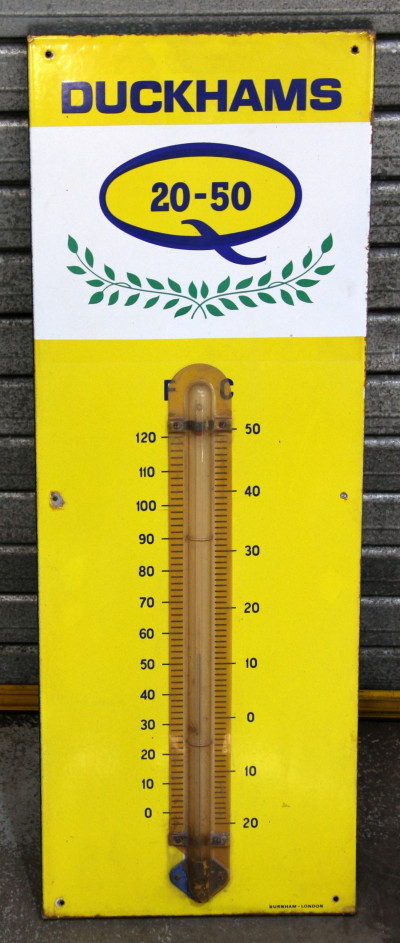 Duckhams thermometer