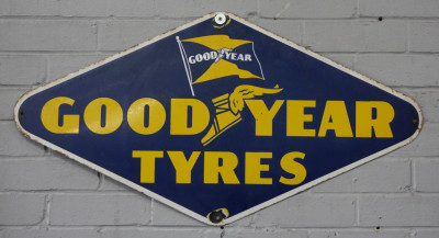 Good Year Tyres sign