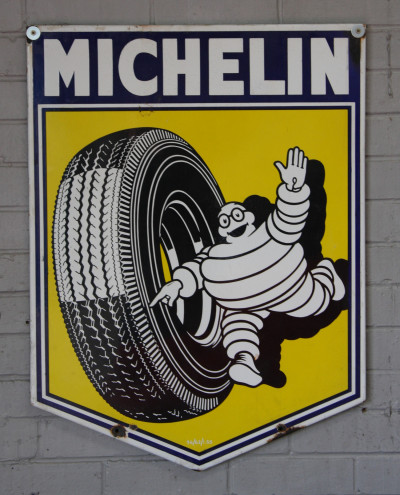 Michelin Tyres sign