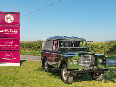 Land Rover Series 3 109 Station Wagon for sale Winchester