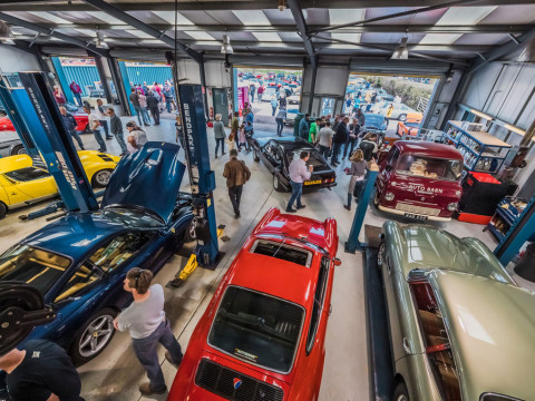 Petrolheads bring cars out of winter storage